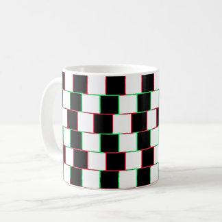 Striped Christmas Illusion Mug