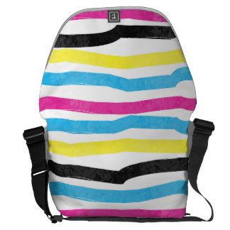 Striped Colorful Courier Bag