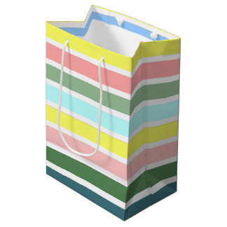 Striped Colors of St. George Medium Gift Bag