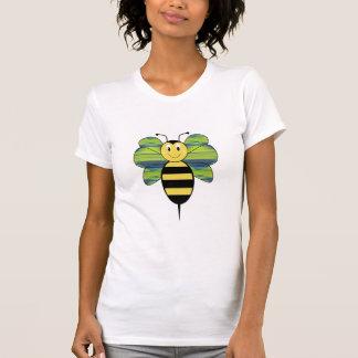 Striped Diamond 05 Smiling Bumble Bee Shirt