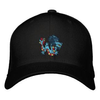 Striped Dragon Embroidered Baseball Caps