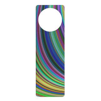 Striped fantasy door hangers
