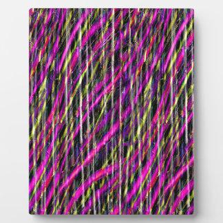 Striped Grunge Plaque