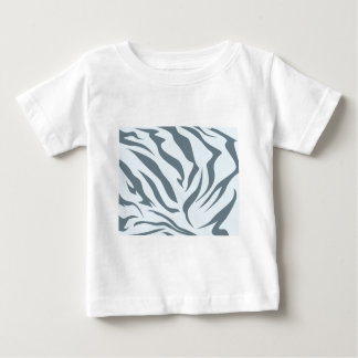 Striped Hyena Skin Pattern Baby T-Shirt