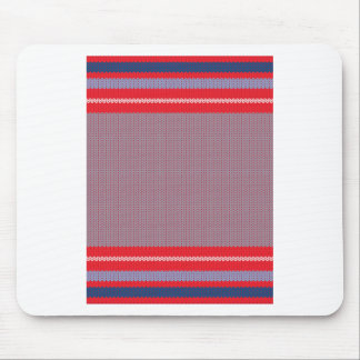 Striped Knitting Background 2 Mouse Pad