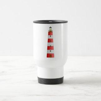 Striped Lighthouse Mug