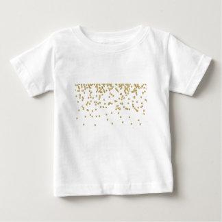 Striped Monogram Luggage Tag Baby T-Shirt