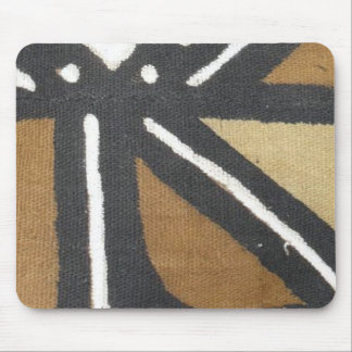 Striped Mud cloth mouse pad