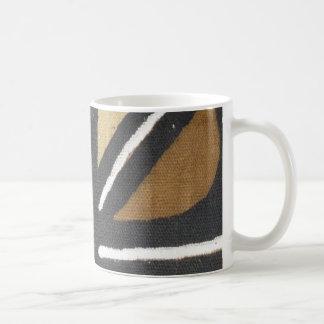 Striped Mud cloth mug