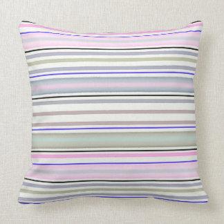 Striped pattern throw pillow