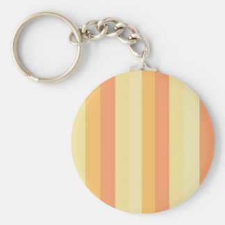 Striped Peaches and Cream Keychains