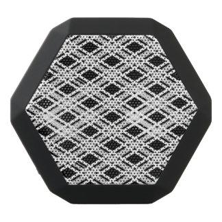 Striped Plaid Pattern Black Boombot Rex Bluetooth Speaker