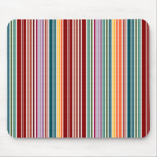 Striped Rainbow | Customizable Mouse Pad