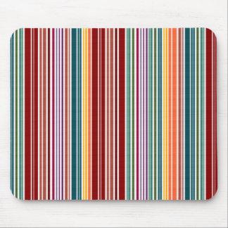 Striped Rainbow | Customizable Mouse Pad