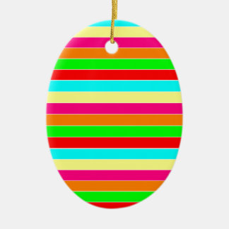 Striped Rainbow Ornaments