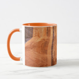 Striped Rock of Double Arch Alcove II Zion Park Mug