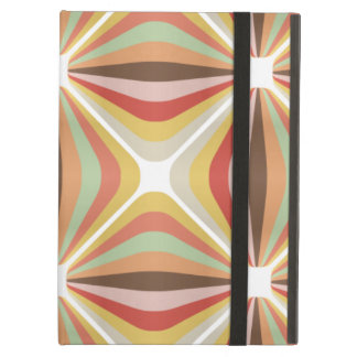 Striped square circus pattern iPad air cover