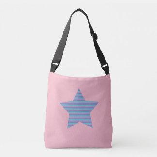 Striped Star Crossbody Bag