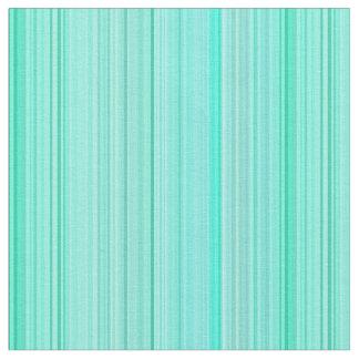 Striped Stripes Green Teal Seafoam Mint Fabric