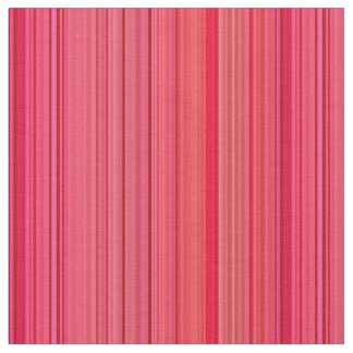 Striped Stripes Red Fabric