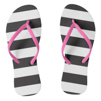 Striped! Thongs