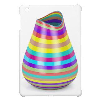 Striped vase iPad mini cover