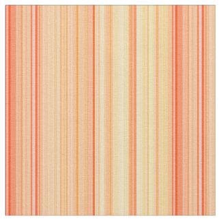 Striped Vertical Stripes Yellow Orange Fabric