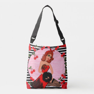 Striped Vintage Glamour Bag