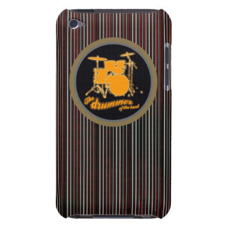 striped yellow drum iPod Case-Mate case