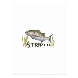 STRIPER POST CARDS