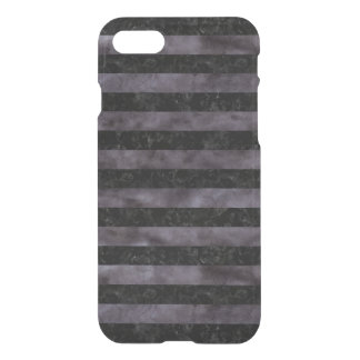 STRIPES2 BLACK MARBLE & BLACK WATERCOLOR iPhone 8/7 CASE