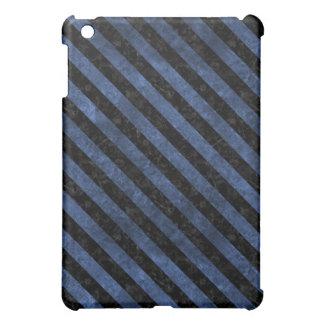 STRIPES3 BLACK MARBLE & BLUE STONE (R) iPad MINI CASES
