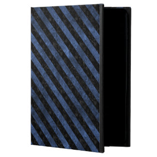 STRIPES3 BLACK MARBLE & BLUE STONE (R) POWIS iPad AIR 2 CASE