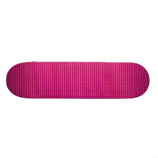 STRIPES61 HOT PINK STRIPES GIRLY FUN GRAPHICS TEXT SKATE BOARDS