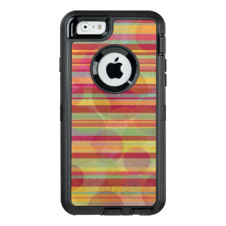 Stripes and circles on Otterbox iPhone case