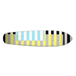 stripes and colours skateboards