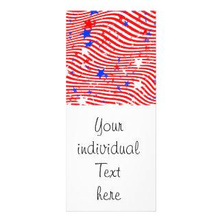 Stripes and Stars Rack Card