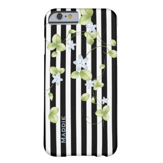 Stripes and Vines Custom iPhone 6 Case Barely There iPhone 6 Case