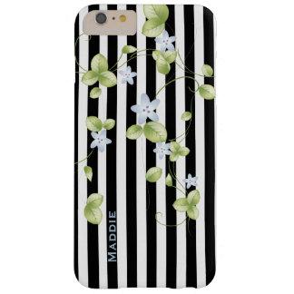 Stripes and Vines Custom iPhone 6 Plus Case
