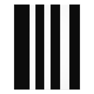 stripes b& w 21.5 cm x 28 cm flyer