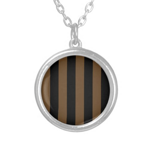 Stripes - Black and Dark Brown Jewelry