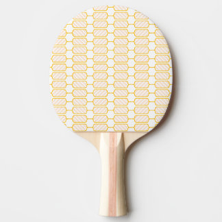 Stripes blocks ping pong paddle
