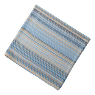 Stripes - Blue and Orange Bandana