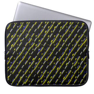 Stripes&Bubbles... Laptop Sleeve