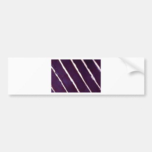 stripes bumper sticker