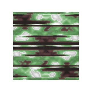 Stripes Camo Pattern Print