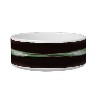 Stripes Camo Pattern Print Bowl