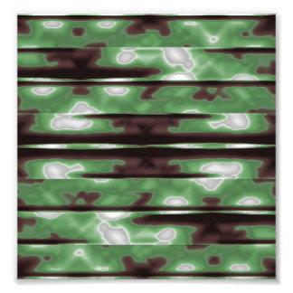 Stripes Camo Pattern Print Photograph