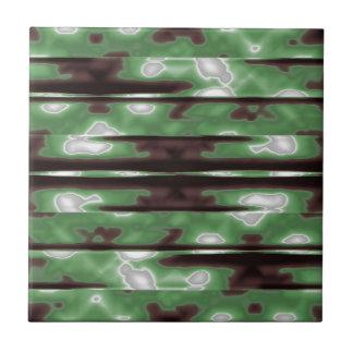 Stripes Camo Pattern Print Tile