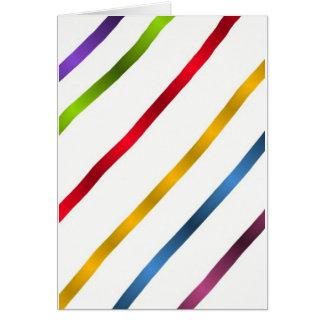 Stripes Card